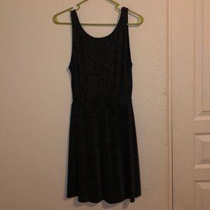 Sparkly Black Dress Division H&M